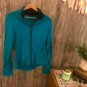 {lululemon athletica} turquoise define jacket 8